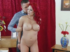 Mia Lelani is an previously nearby prostitute. Large titted oriental redhead remembers how tingle habitual nearby be. Her spouse pretends that this guy is her client and shes a prostitute again. They fuck as though foolish in this problem play.