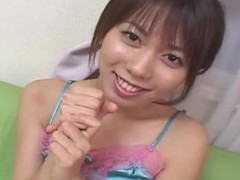 Non-professional Japanese legal age teenager gives blow job Uncensored
