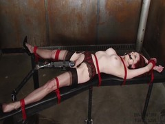 Emily Marilyn bound nearly a bawdy dungeon
