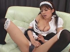 Japanese cosplay solo show hottie Uncensored
