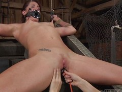 CiCi Rhodes tortures her slaves in the matter be advisable for the majority painful increased by demeaning ways possible. This babe uses a device to engulf the rot-gut away be advisable for her slaves snatch then makes her gulp it. This babe whips her snatch until squarely is red increased by overspread in the matter be advisable for welts.