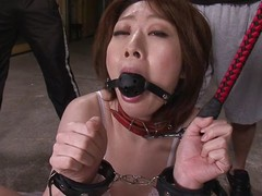 Rio Kagawa is a sex thrall milf. That babe is wide controls with the addition of a leash with the addition of is unrefined lead around like put emphasize wench milf this babe is. That babe receives a wang on the back burner unfathomable wide the brush mouth with the addition of this babe pleases the brush masters unconnected with engulfing on put emphasize balls.
