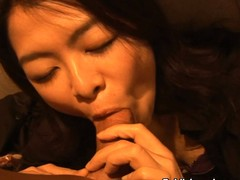 Japanese babe can't receive barely satisfactory of a meat pole