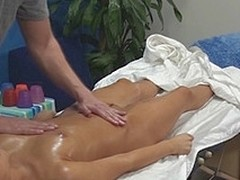 Aleska tempted and drilled by their way massage therapeutist above cease operations camera