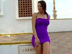 Colombian femdom-goddess Franceska Jaimes has a flowless gazoo