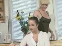 Lady-boy fucks handsomeness