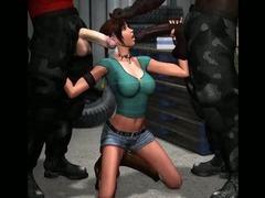 Ogres Fucking 3D Cute Girls!
