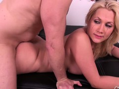 Leader blond Alanah Rae receives her pussy screwed and takes a load be fitting of cum