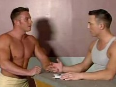 Homosexual Muscle Studs Fucking