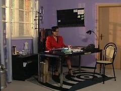 Frau Schneider - German Aged Boss
