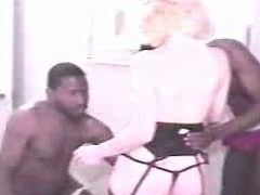Interracial Cuckold - Wife Copulates 2 Blacks And  Soft-pedal Films