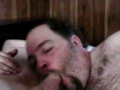 Bulky Homosexual Foreplay