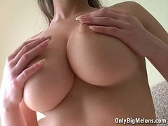 Breasty Alina ideal milk shakes