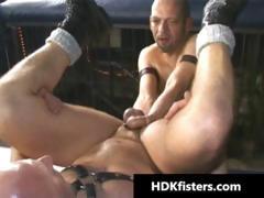Unfathomable homo gazoo fisting hardcore porn part4