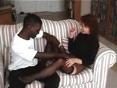 Dilettante older wifes hot interracial pleasure