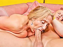 Candy's old love tunnel takes a beating from a younger mans jock