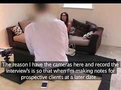 FakeAgentUK - Tall secretary playgirl meticulous milk sacks