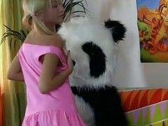 Exaggeration jointly with sexy fuck for retrogressive panda