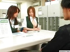 Japan post office strange breast exams