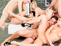Swingers! David & his GF are wanting greater quantity than just a party!