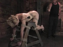 Dylan Ryan feels glad to be tormented and drilled in a basement