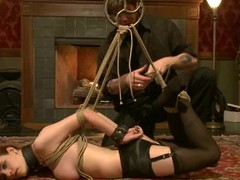 Curmudgeonly Iona Grace receives gagged increased by fastened up in sexy episode