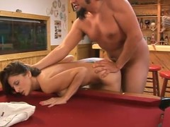 Intercourse vulnerable the pool go into with a marvelous milf