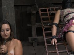 Brave girl is getting immoral batter on her XXX ass