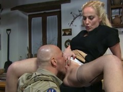 Italian housewife acquires snatch eaten