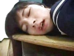 Schoolgirl Enema