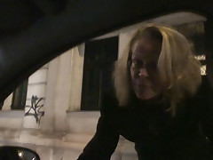 Horny mother i'd like yon fuck engulfing a dick in the auto